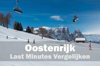 Oostenrijk wintersport lastminutes vergelijken